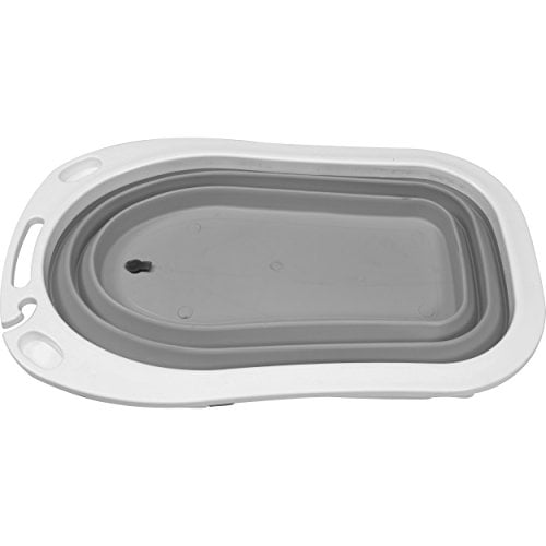 iSafe Foldable Baby Bath – Grey