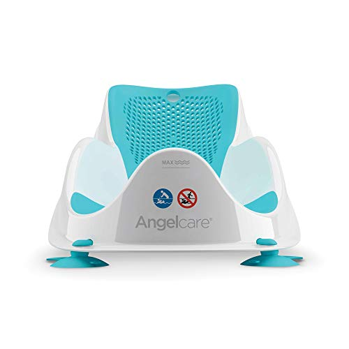 Angelcare Soft Touch Mini Baby Bath Support - Aqua 1