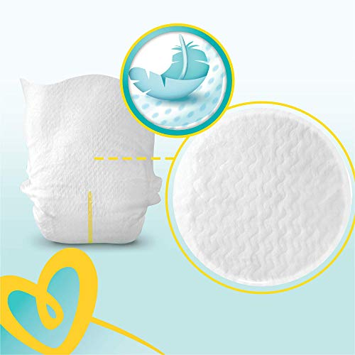 Pampers New Baby 96 Nappies, 2 - 5 kg, Size 1 2