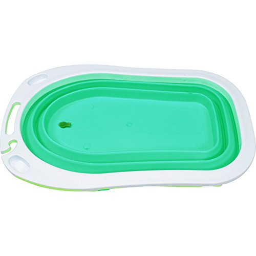 iSafe Foldable Baby Bath – Lime