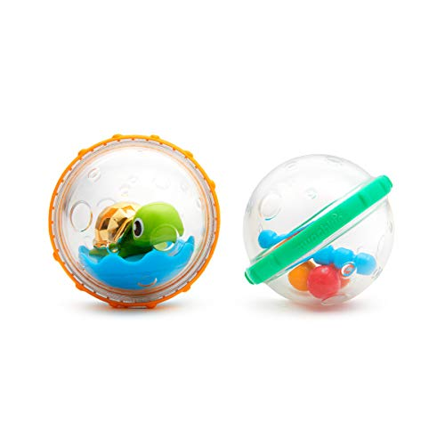 Munchkin Float and Play Bubbles Bath Toy, Pack of 2 ( Assorted Model ) 1