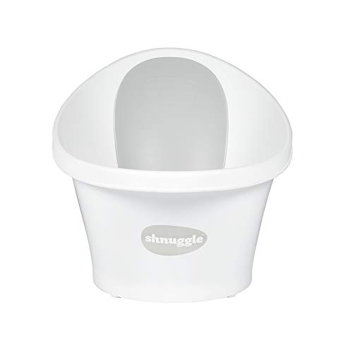 Shnuggle Baby Bath with Bum Bump Support and Cosy Foam Back Rest 7